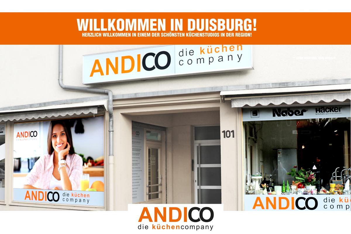 ANDICO küchen pany – Ihr Küchenstudio Duisburg