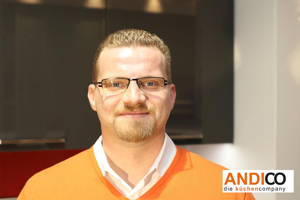 ANDICO die küchencompany - Mitarbeiter Manuel Schmitz