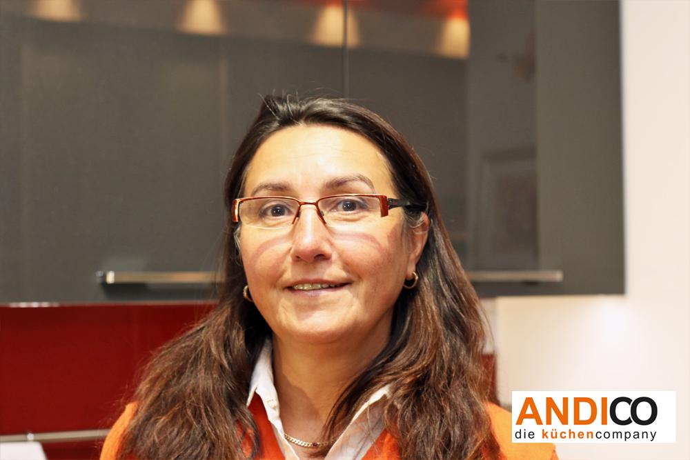 ANDICO die küchencompany - Mitarbeiterin Marlies Petrow