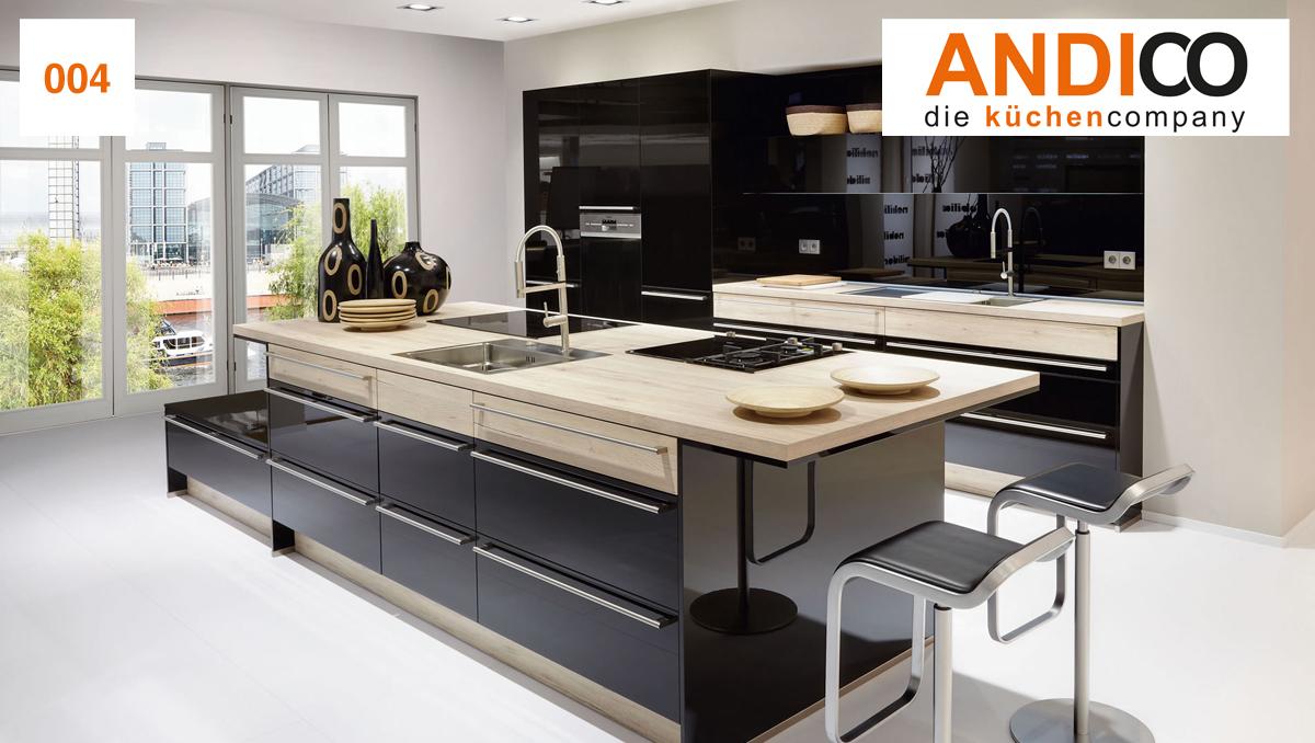 ANDICO die küchencompany - Küchenbeispiel