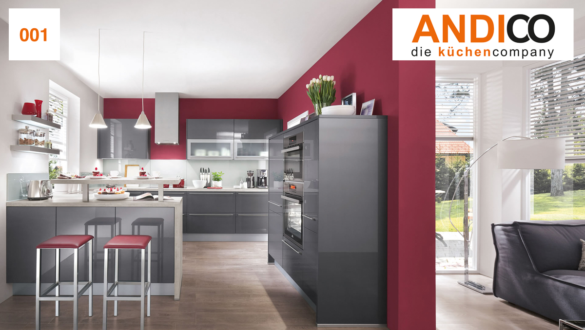 Design-Küchen - ANDICO die küchencompany