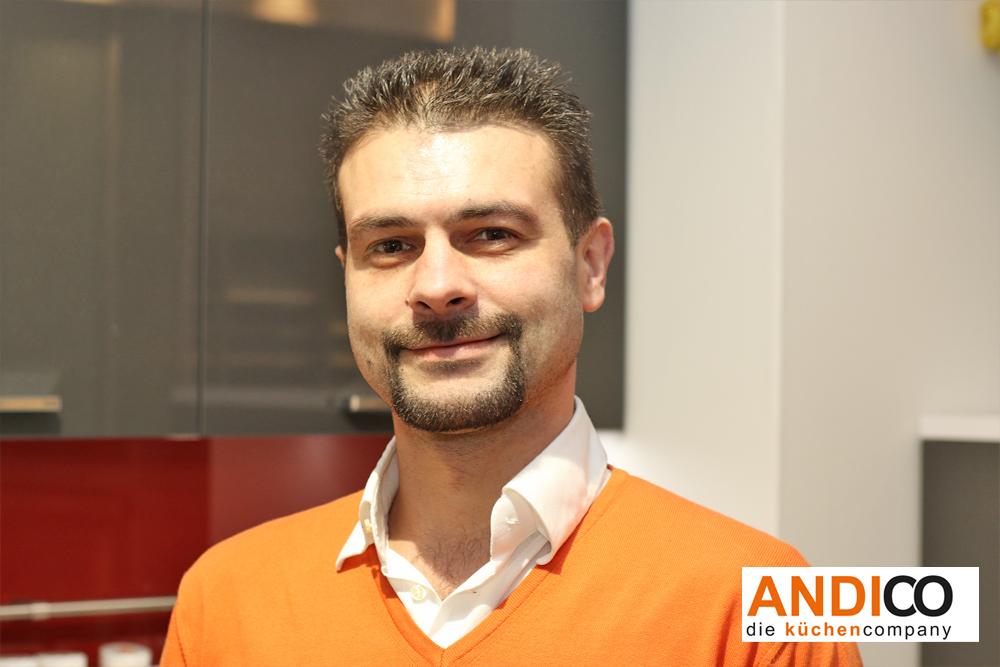 ANDICO die küchencompany - Mitarbeiter Andi Petrow